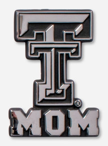 Texas Tech Red Raiders Double T Mom Car Emblem