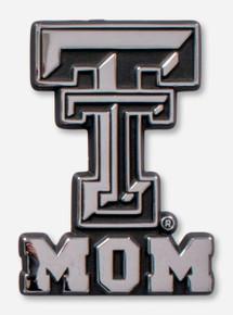 Texas Tech Red Raiders Double T Mom Car Emblem