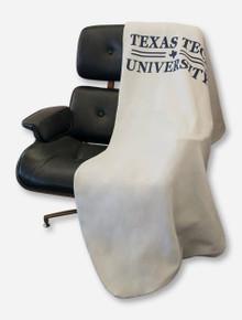 Texas Tech Red Raiders Bar None Navy Text Sweatshirt Blanket