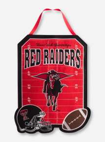 Texas Tech Red Raiders Masked Rider Flag