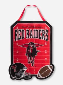 Texas Tech Red Raiders Masked Rider Flag