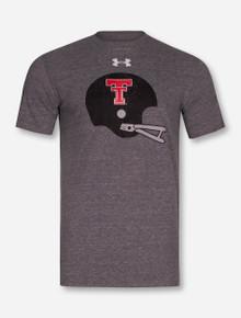 "Under Armour Texas Tech Red Raiders ""Triblend Helmet"" T-Shirt"
