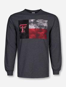 Texas Tech Red Raiders Distressed Tech Flag Long Sleeve Shirt