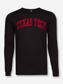Texas Tech Red Raiders Red Foil Arch Long Sleeve Shirt