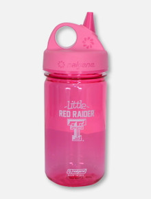 Texas Tech Red Raiders Nalgene 12oz Pink Tritan Sippy Cup
