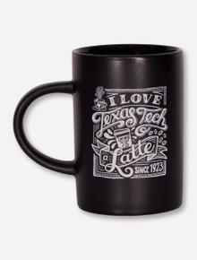Texas Tech Red Raiders Love You Latte Coffee Mug