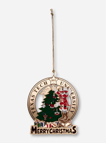 Texas Tech Raider Red's Merry Christmas 2017 Collector's Ornament