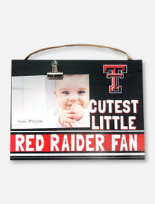 Texas Tech Red Raiders Cutest Photo Clip Frame
