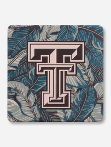 Texas Tech Red Raiders Palm Leaves Coaster