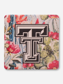 Texas Tech Red Raiders Cactus Double T Coaster