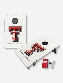 Texas Tech Red Raiders Double T Portable Baggo Bag Toss Backyard Game (dropship)