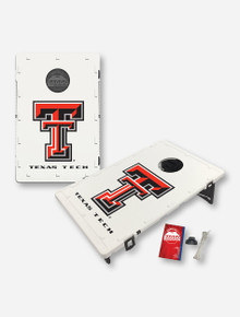 Texas Tech Red Raiders Double T Portable Baggo Bag Toss Backyard Game (dropship)