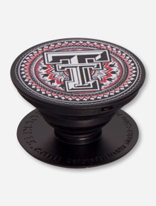 Texas Tech Red Raiders Tapestry Pop Socket Grip Stand