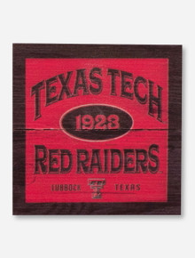 Texas Tech Red Raiders Wood Magnet