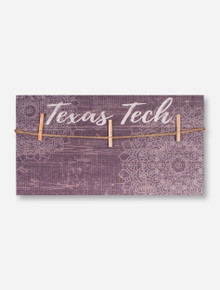 Texas Tech Red Raiders Mandala Plank Picture Hanger