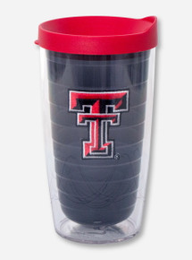 Tervis Texas Tech Double T on Smoke Grey Travel Tumbler