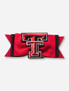 Texas Tech Red Raiders Tux Bow Hairclip
