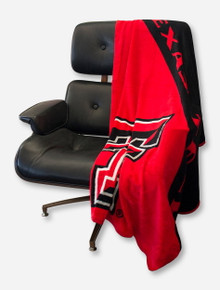 Texas Tech Red Raiders Micro Raschel Throw