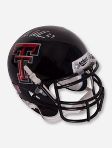 Schutt Mini Helmet Signed by Wes Welker