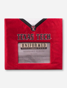 Texas Tech Red Raiders Football Jersey Keepsake Album