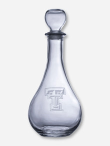 Texas Tech Red Raiders Etched Double T Decanter
