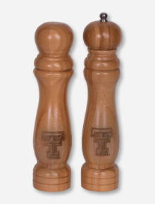 Texas Tech Red Raiders Bamboo Double T Salt and Pepper Set