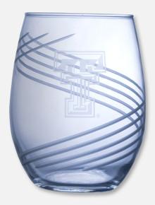Texas Tech Red Raiders Swirl  21oz Stemless Wine Glass