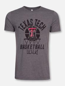 Texas Tech Red Raiders Through the Hoop Basketball T-Shirt