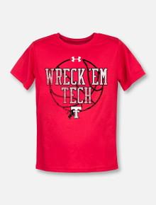 """Under Armour Texas Tech """"Basketball Wreck 'Em"""" YOUTH T-Shirt"""