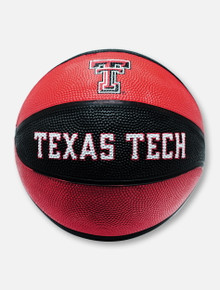 Texas Tech Red Raiders Kids Black & Red Basketball