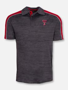 "Arena Texas Tech Red Raiders ""Skip"" Charcoal Polo"