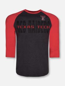 Arena Texas Tech Red Raiders Steal Home 3/4 Sleeve Tshirt