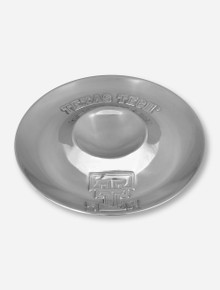Wilton Armetale Texas Tech & Double T on Pewter Chip & Dip Platter