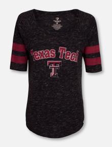 """Arena Texas Tech Red Raider """"Bean Babbit"""" Raglan Top"""