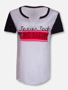 "Arena Texas Tech Red Raiders ""Hooch""V-Neck Short Sleeve Shirt"