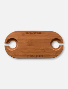 Texas Tech Red Raiders Laser Etched Bamboo Wine Serving Tray