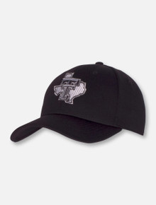 "47 Brand Texas Tech Red Raiders Pride ""All Black Everything"" Velcro Adjustable Cap"