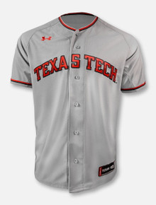Under Armour Texas Tech Red Raiders Arch Baseball  Jersey