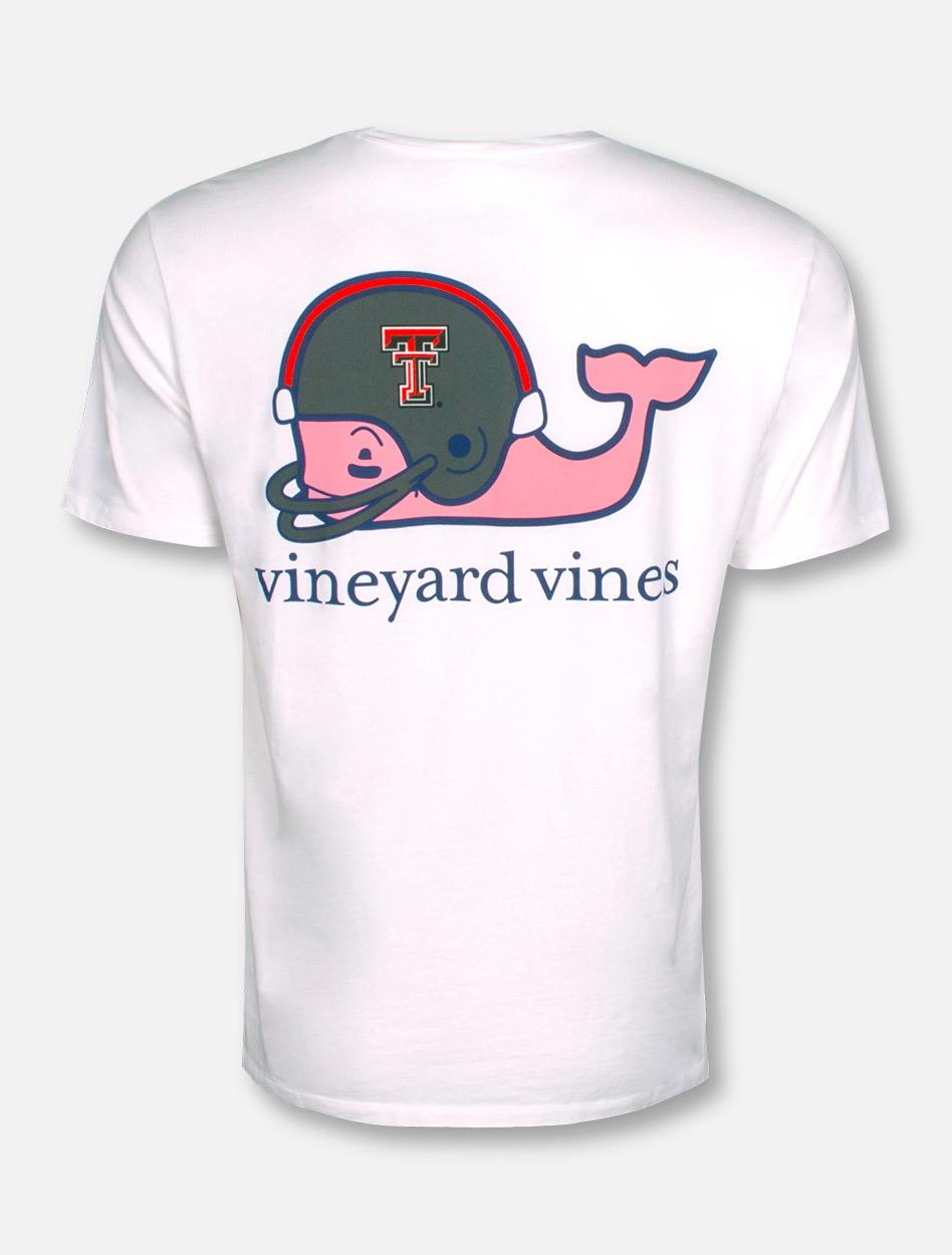 122036200 Vineyard Vines Texas Tech Red Raiders Football Whale with Helmet ...