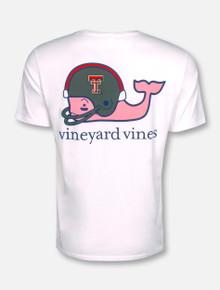 Vineyard Vines Texas Tech Red Raiders Football Whale with Helmet T-Shirt