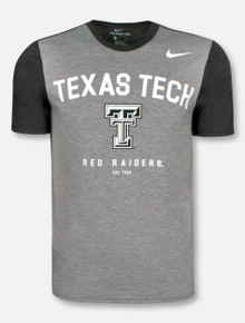 Nike Texas Tech Red Raiders Double T Est. 1923 Tri-Blend T-Shirt