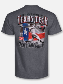 Texas Tech Red Raiders Swinging For the Fence T-Shirt