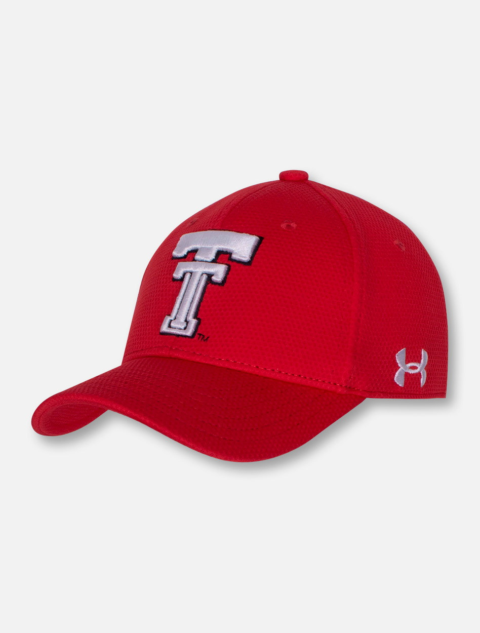 Under Armour Texas Tech Red Raoders Throwback Red YOUTH Cap aed82bb949a