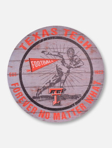 """Texas Tech Red Raiders """"Forever No Matter What""""  Wall Art"""