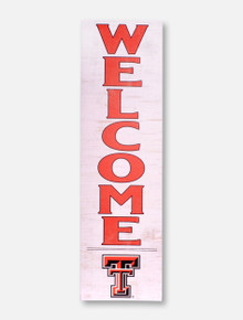 "Texas Tech Red Raiders ""Welcome""  Wall Art"