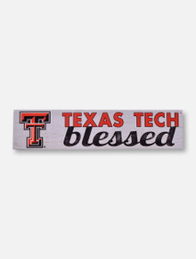 Texas Tech Red Raiders Double T Blessed Wall Art
