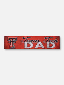Texas Tech Red Raiders Double T Dad Wall Art