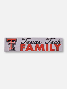 Texas Tech Red Raiders Family with Double T Wall Art