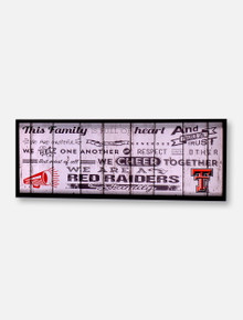 Texas Tech Red Raiders Cheers Serving Tray
