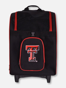 Texas Tech Red Raiders Double T Wheeled Pet Carrier